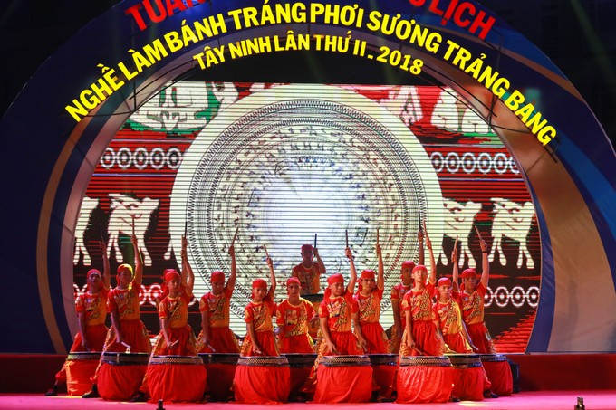 Die Kultur-Tourismuswoche über Reisblätter Trang Bang in Tay Ninh - ảnh 1