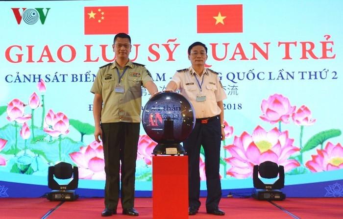 Begegnung der Seepolizisten zwischen Vietnam und China - ảnh 1