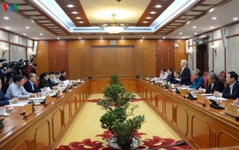 Staatspräsident: Nghe An soll eine der führenden Provinzen des Landes werden - ảnh 1