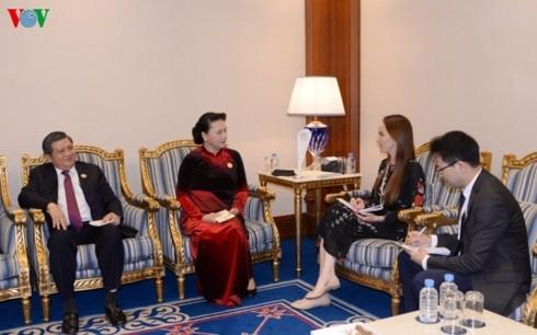 Förderung der Zusammenarbeit zwischen dem vietnamesischen Parlament und den Partnern  - ảnh 2
