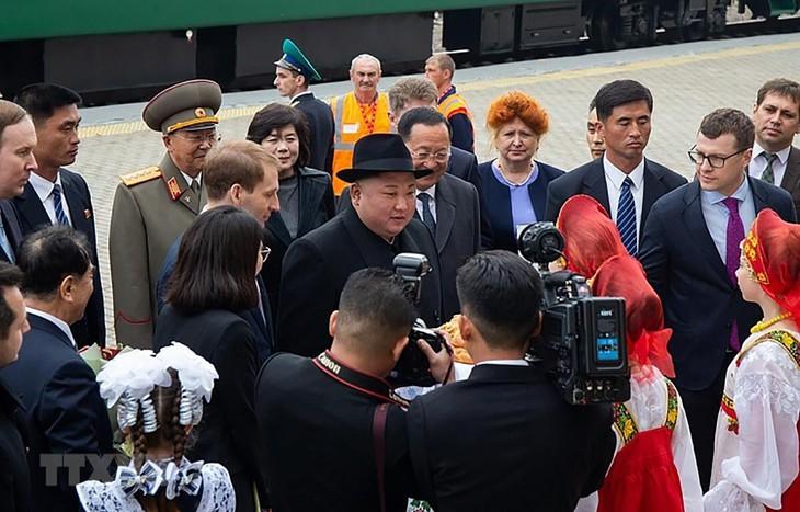 Nordkoreas Staatschef auf dem Weg nach Wladiwostok - ảnh 1