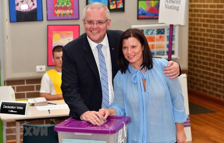 Der australische Premierminister erörtert die Priorität der Regierung in der neuen Amtszeit - ảnh 1