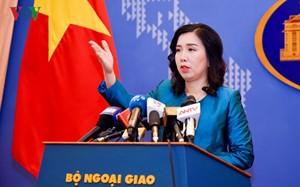Vietnam fordert die Einstellung der Austragung des chinesischen Segelbootrennens bei der vietnamesischen Insel Duy Mong  - ảnh 1