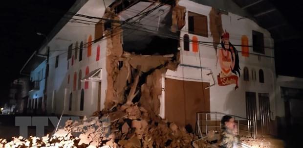 Starkes Erdbeben verursacht große Sachschäden und fordert Menschenleben  - ảnh 1