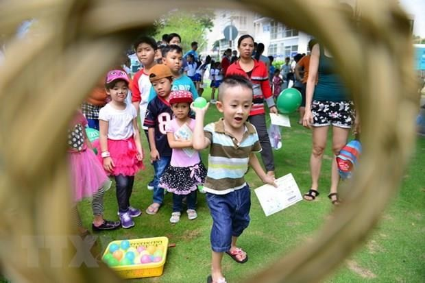 Veranstaltungen zum Kindertag  - ảnh 1