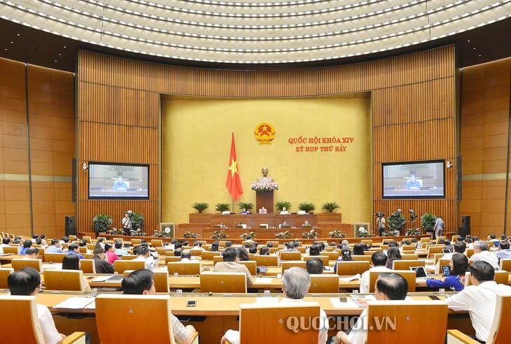 Parlament berät geändertes Arbeitsgesetz - ảnh 1
