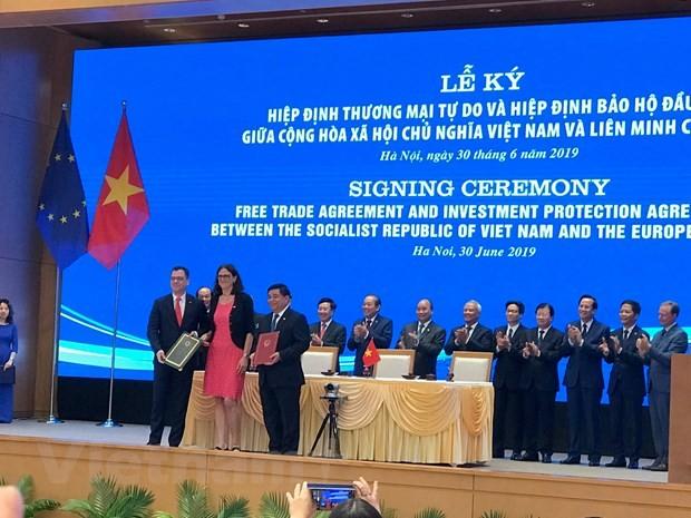 Neuer Horizont für die Zusammenarbeit zwischen Vietnam und der EU - ảnh 1