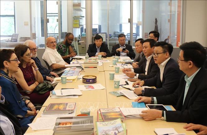 Vietnam und die USA verstärken die Zusammenarbeit bei Politik-Beratung und Akademiker-Austausch - ảnh 1