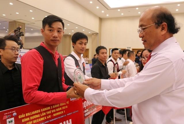 Turnier für Dreiband Karambolage-Billard Binh Duong - ảnh 1