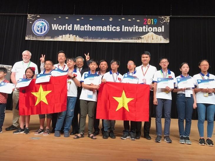 Hanoier Schüler erzielen gutes Ergebnis bei World Mathematics Invitational  - ảnh 1