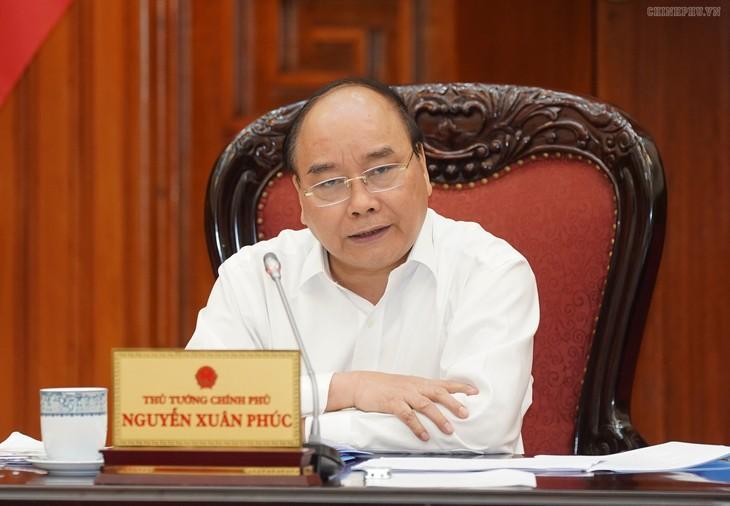 Die ständige Abteilung der Regierung debattiert über einige Infrastrukturprojekte - ảnh 1
