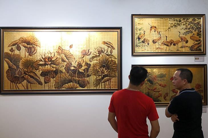 Eröffnung des Bilder-Raums Kim Concert in Hanoi - ảnh 1