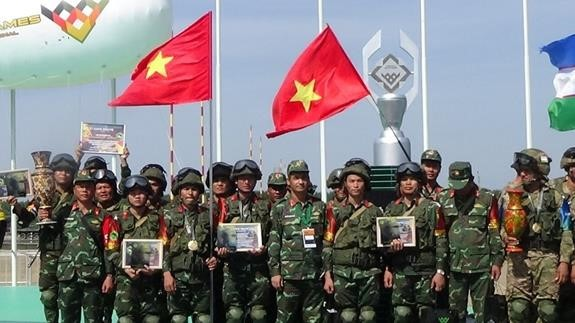 Die Truppe der vietnamesischen Kampfingenieure gewinnt den 3. Preis bei Army Games in Russland - ảnh 1