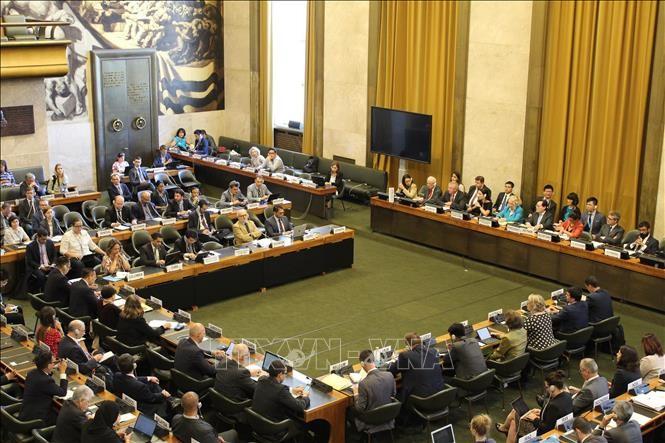 Konferenz zur Abrüstung zum Abschluss der Amtszeit als Vorsitzender Vietnams - ảnh 1