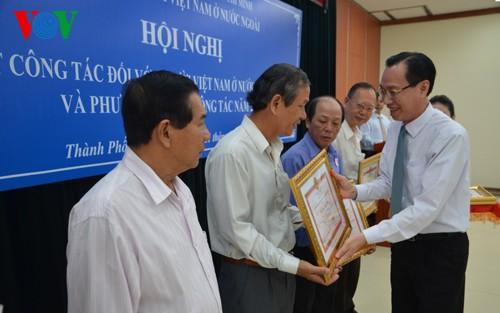 Thành phố Hồ Chí Minh tăng cường phát huy nguồn lực kiều bào - ảnh 1