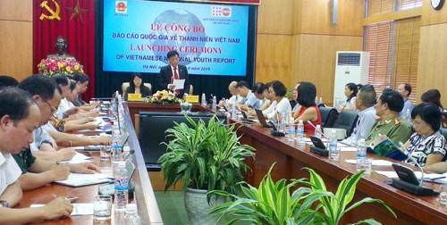 Công bố báo cáo quốc gia về thanh niên Việt Nam - ảnh 1
