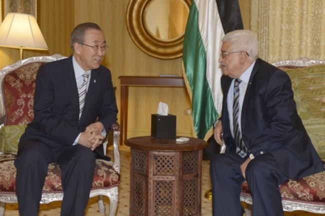 Президент Палестины призвал ООН защищать палестинцев - ảnh 1