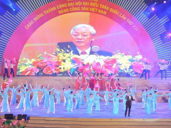 12-й съезд стал историческим событием в деле строительства и защиты Родины - ảnh 1