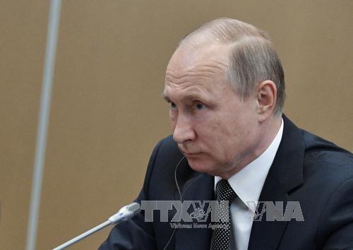 """Президент РФ ответил на вопросы россиян в эфире 15-й """"Прямой линии"""" - ảnh 1"""