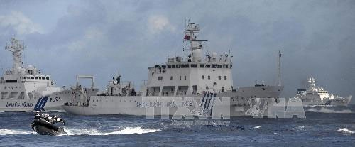 Корабли Китая вновь вошли в территориальные воды Японии - ảnh 1