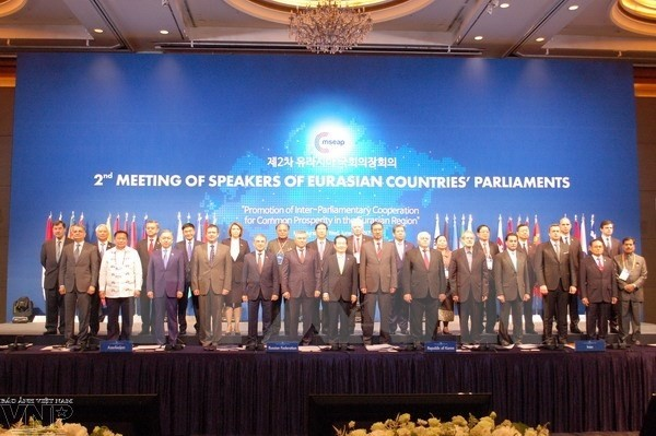 Уонг Чу Лыу принял участие во 2-м совещании спикеров парламентов стран Евразии - ảnh 1