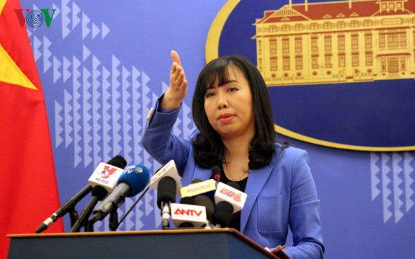 Вьетнам требует от Китая уважать суверенитет Вьетнама над архипелагом Хоангша - ảnh 1