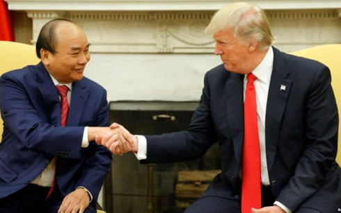 Белый дом обнародовал программу турне Трампа по странам Азии - ảnh 1