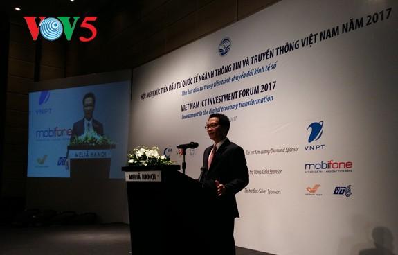 Вьетнам стимулирует инвестиции в область информационных технологий и коммуникаций - ảnh 1