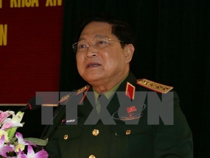 Вьетнам принимает участие в 11-м совещании министров обороны АСЕАН - ảnh 1
