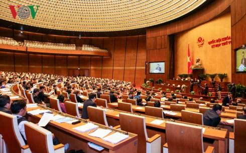 На 4-й сессии НС СРВ 14-го созыва обсужден Законопроект о планировании - ảnh 1