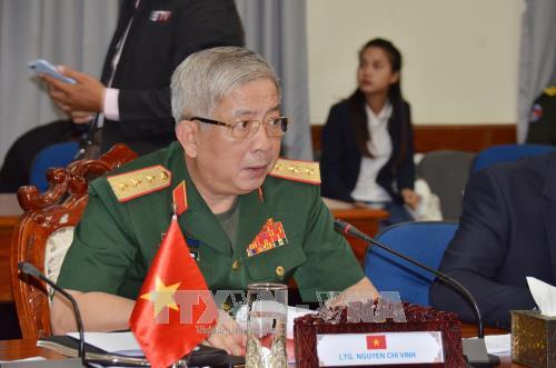 Состоялся 3-й вьетнамо-камбоджийский диалог по оборонной политике на уровне замминистров - ảnh 1