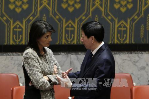 США представили Совбезу ООН проект новых санкций против КНДР - ảnh 1
