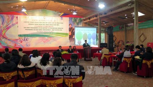 Подведены итоги проекта «ООН содействует Вьетнаму строить новую деревню» - ảnh 1
