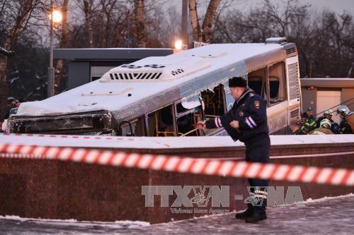Полиция не рассматривает версию теракта как причину ДТП в Москве - ảnh 1