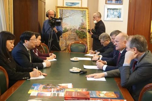 Председатель КПРФ высоко оценил поддержку Вьетнама - ảnh 1