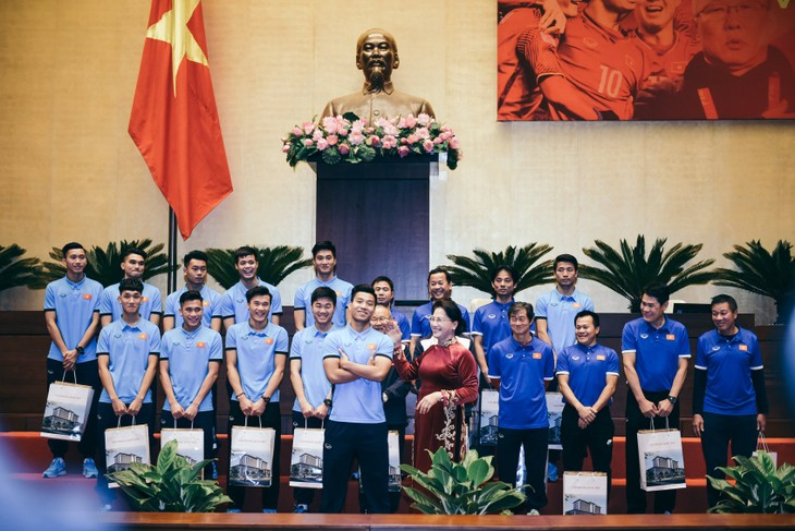 Сборная Вьетнама U23 добилась блестящих успехов на молодёжном чемпионате Азии по футболу - ảnh 1