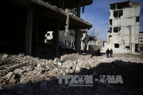 Швеция и Кувейт внесли в СБ ООН проект резолюции о 30-дневном прекращении огня в Сирии - ảnh 1