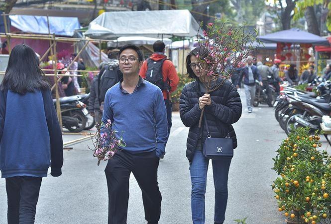 Оживленная предновогодняя атмосфера в разных районах Вьетнама - ảnh 1