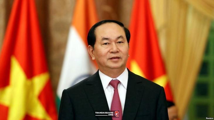 Президент Вьетнама отправил президенту Ирана поздравительную телеграмму по случаю Национального дня - ảnh 1