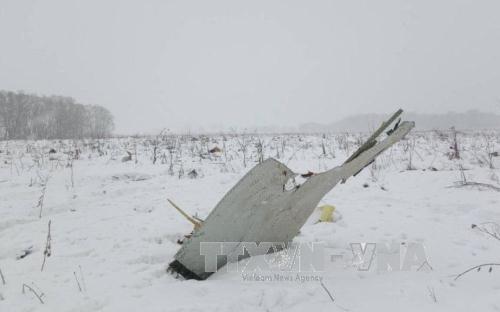 Росавиация начинает изучать черные ящики разбившегося самолета Ан-148 - ảnh 1