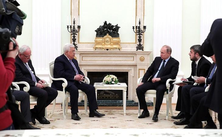 Путин: Россия всегда поддерживала палестинский народ - ảnh 1