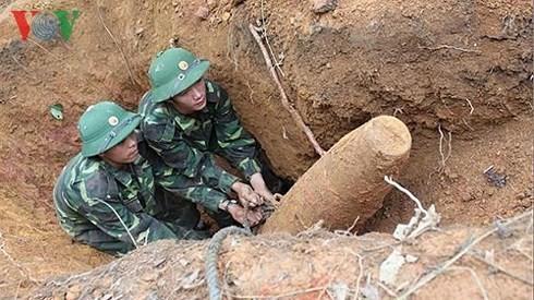 Во Вьетнаме создано бюро Руководящего комитета по ликвидации последствий бомб и мин - ảnh 1