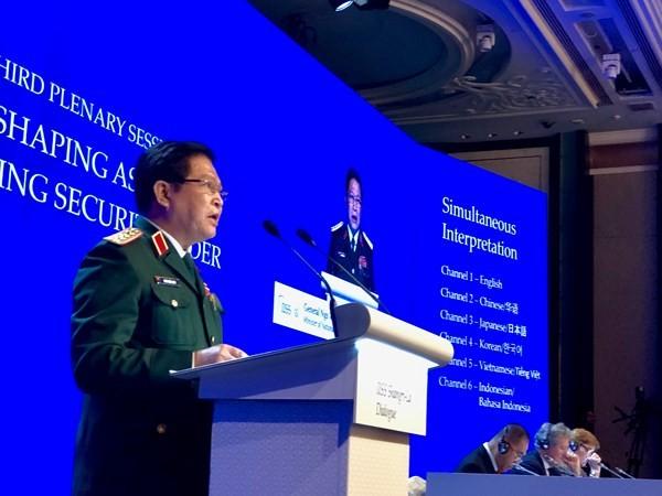 На 17-м диалоге Шангри-Ла подчеркнули необходимость соблюдения международного права - ảnh 1
