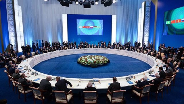 В Китае открылось 18-е заседание Совета глав государств-членов ШОС - ảnh 1