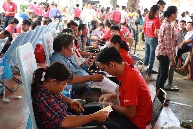 Во Вьетнаме развернута донорская программа «Красный маршрут» - ảnh 1