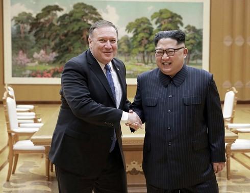 США и КНДР договорились создать рабочие группы по денуклеаризации - ảnh 1