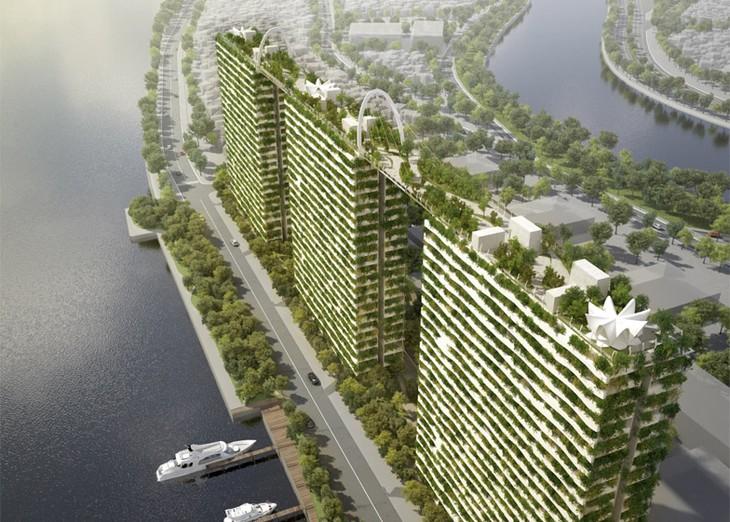 Вьетнам активизирует развитие зеленой архитектуры - ảnh 1