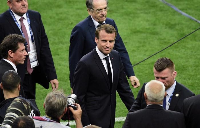 Макрон приедет на полуфинальный матч ЧМ-2018 с участием сборной Франции - ảnh 1
