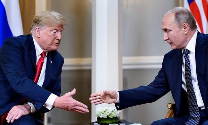 Встреча Путина и Трампа началась в Хельсинки - ảnh 1