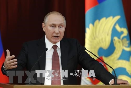 Путин: РФ будет соразмерно реагировать на шаги НАТО по созданию баз у ее границ - ảnh 1